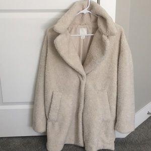 Beige Mid Length Coat (neverworn)